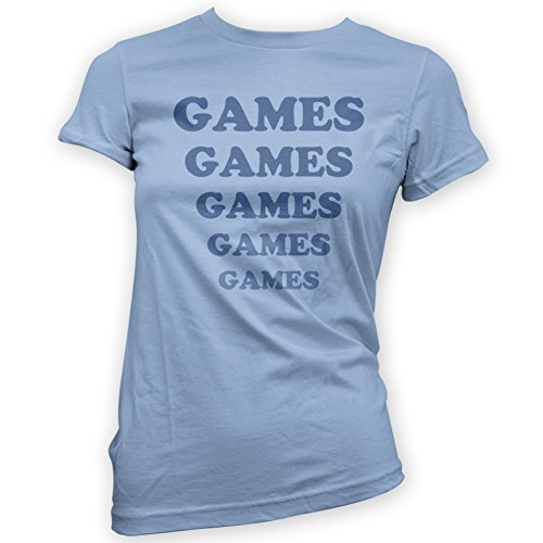 Games Games Games Womens T-Shirt -x14 Colours- S To XXL Sizes