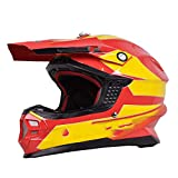 LOLIVEVE Professioneller Off-Road Racing Helm Mit Airbag Helm Motorradhelm