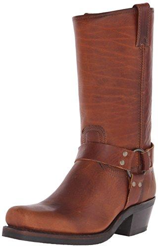 FRYE Harness 12R Damen US 8.5 Braun Stiefel (Stiefel Frauen Frye Verkauf)