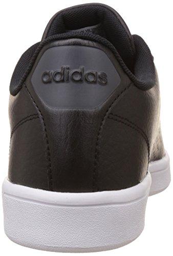 adidas Herren Cloudfoam Advantage Sneakers Schwarz (Cblack/cblack/dgsogr)