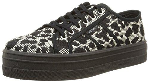 Victoria 109267, Unisex-Erwachsene Sneakers Schwarz (Negro)