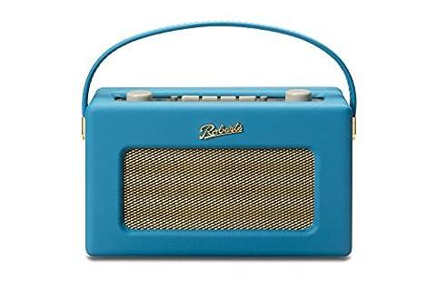 Roberts-rD60–marine 5.5.017 radio dAB radio revival bleu turquoise