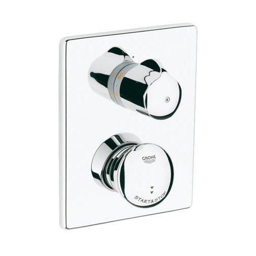 Preisvergleich Produktbild GROHE Fertigmontageset Eurodisc Selbstschluss-Brause-Thermostat,  verchromt 36247000