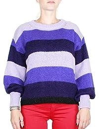8f10e3e3676a Kaos Twenty Easy Maglia Donna KI3FP034 Colore Violet Autunno-Inverno 2018 19
