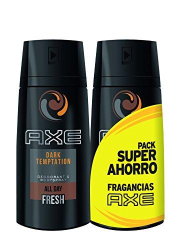 AXE Desodorante Dark Temptation Duplo Ahorro - 2 Paquetes de 2 x 150 ml: Total: 600 ml