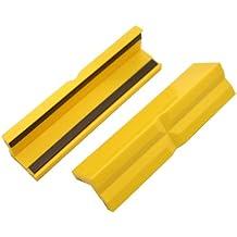 Mordazas para tornillo de banco plástico magnético 150mm, par