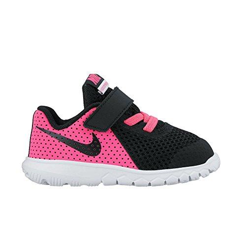 Nike Flex Experience 5 (Tdv), Chaussures de Football Mixte Bébé Noir-Rose