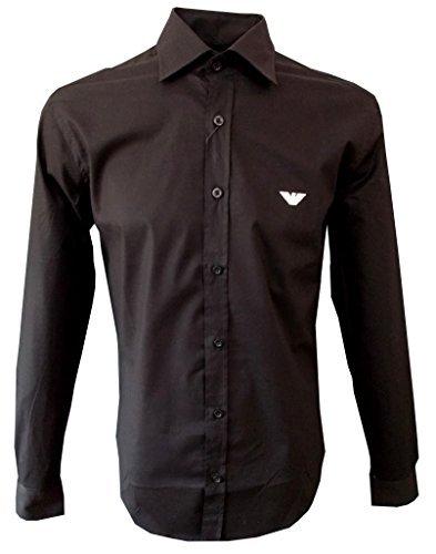 emporio-armani-herren-hemd-langarm-slim-fit-farbe-schwarz-s