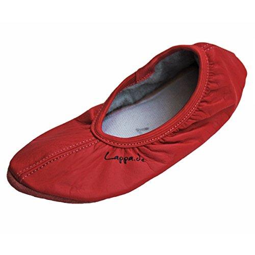 Negro, Blanco, Jensblau, Rosa, Fucsia, Celeste, Zapatos De Salmón, Ballet, Zapatos De Ballet, Turnschläppchen, Zapatos De Baile Con Ledersohle. Tgl 30-44 Salmón Rojo