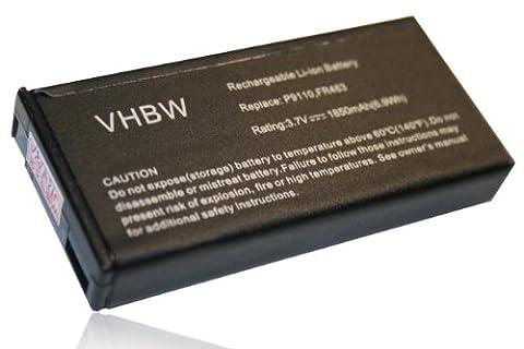 vhbw Li-Ion batterie 1850mAh (3.7V) pour ordinateur PC Dell PowerEdge R810, R815, R900, R905, R910, T105, T300, T301, T410 comme 0NU209, FR463, FR465.