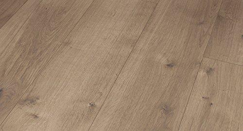 PARADOR Vinylboden Modular One - Eiche Pure perlgrau 1730768 - Designboden Landhausdiele Holzstruktur mit integrierter Kork-Trittschalldämmung und Klick-Verbindung - Paket a 2,493m²