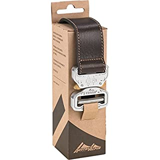 AustriAlpin Leather Belt COBRA® (38mm), Farbe:braun/poliert;AustriAlpinGroesse:L (110cm)