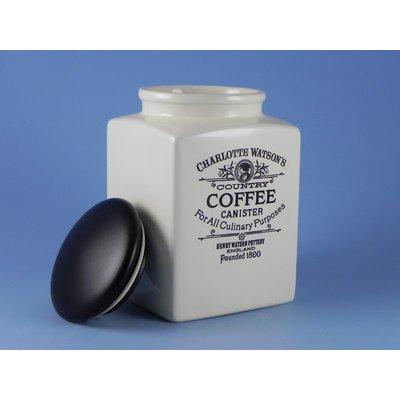 Charlotte Watson Large Square Coffee Jar