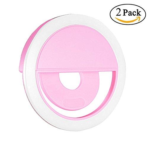 GreeSuit-2PCS-Selfie-Luce-Anello-Flash-Macro-Ring-Light-Illuminazione-dellanello-di-selfie-esterna-36-LED-supplementare-con-lilluminazione-del-cavo-di-carico-del-USB-che-aumenta-i-livelli-di-luminosit