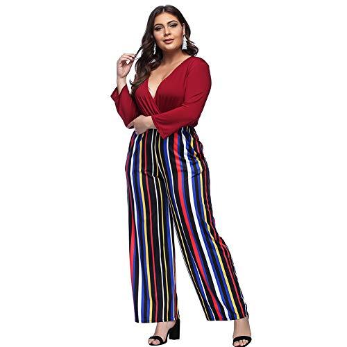 fe0aacfdce6 Lover-Beauty Traje Mujer Talla Grande Fiesta Hombro Descubieto Cintura Alta  Vendaje Dama.