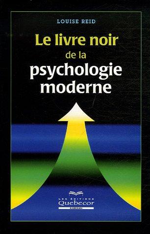 LIVRE NOIR PSYCHOLOGIE MODERNE