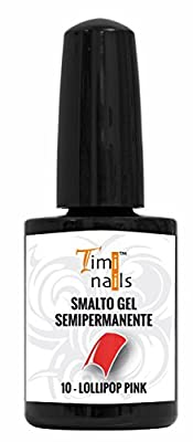 TN Vernis Gel Semi-Permanent nr. 10 Lollipop Pink 14 ml.