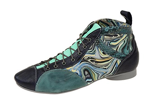 Think! Guad, Desert Boots Femme NAVY/KOMBI