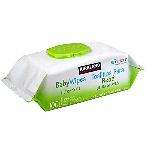 Kirkland Signature toallitas húmedas para bebé 1 Paq. (100 toallitas)