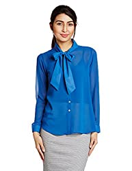 AND Womens Body Blouse Shirt (AW15V109AT180BLUE12)