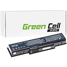 Green Cell® PRO Serie Batería para Packard Bell EasyNote TJ66-DT-022UK Ordenador (Las Celdas Originales Samsung SDI, 6 Celdas, 5200mAh, Negro)