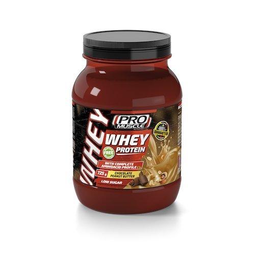 Promuscle whey protein barattolo 725 g (burro d'arachidi al cioccolato)
