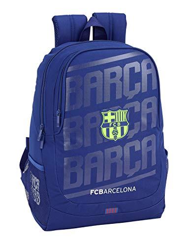 FC Barcelona 611826665 2018 Mochila Escolar, 44 cm, Azul