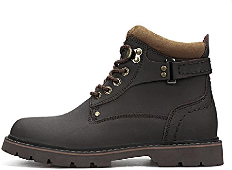 HHYAtmungsaktiven Tragekomfort Stiefel für Männer und Frauen  die im Herbst und Winter  Leder Herren stiefel