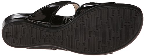 Ecco Womens Touch 25 Stride Dress Sandal Black