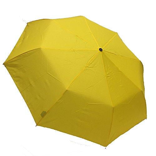 Doppler Derby Hit Ombrello pieghevole con apertura e chiusura automatica, colore: giallo