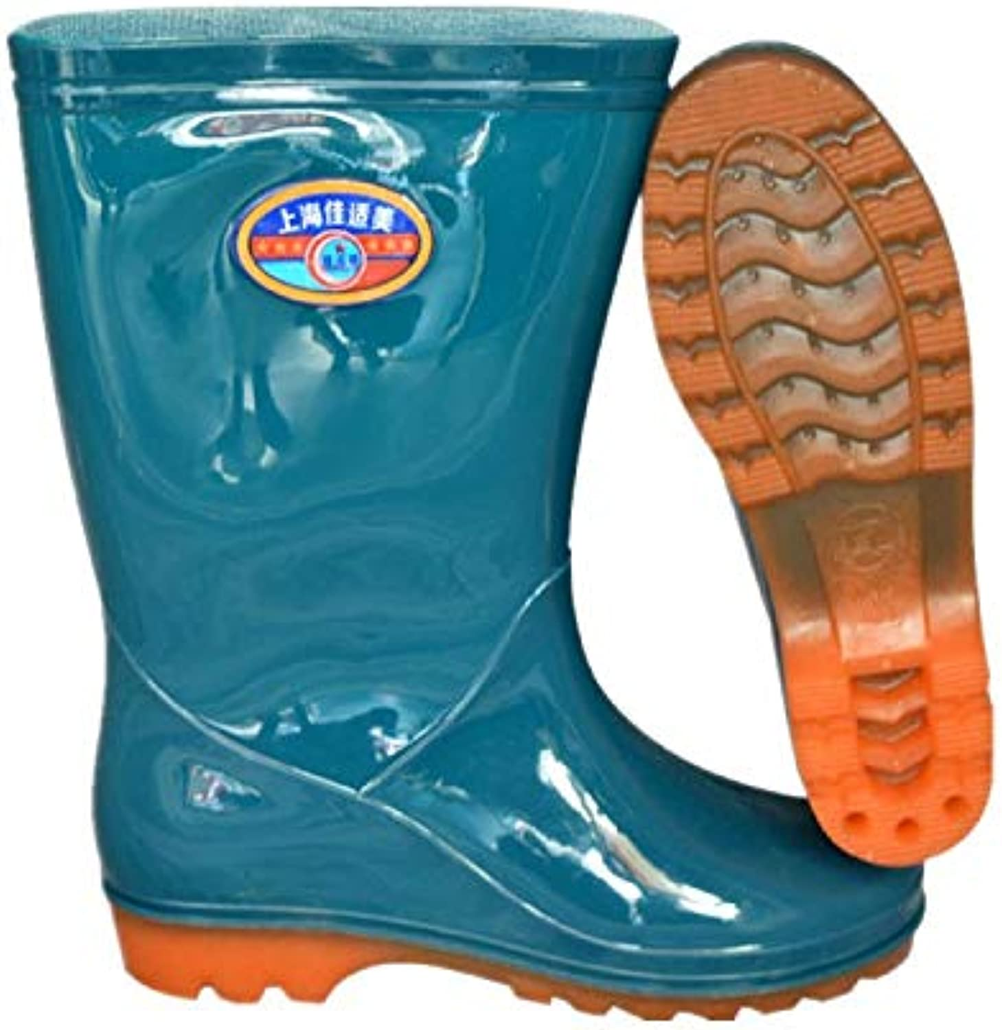 8ae746d3086 Top Shishang Warm in in in the tube labor boots non-slip waterproof beef  tendon