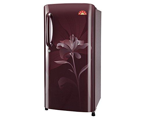 LG GL-B201ASLN Direct-cool Single-door Refrigerator (190 Ltrs, 5 Star Rating, Scarlet Lily)