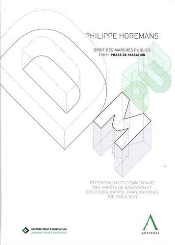Droit des marchés publics : Phase de passation
