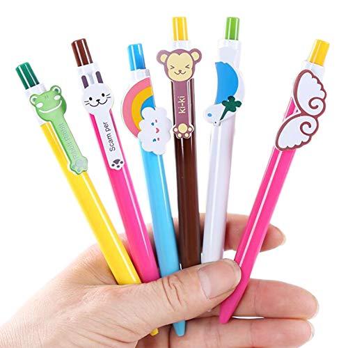 Mongrep Niedlichen Cartoon Kawaii Neuheit Kugelschreiber Schöne Katze Vogel Kugelschreiber. Perfekte Auszeichnung Für Kinder. (zufällige Lieferung) (Lernen, Zu Zeichnen, Cartoons Für Kinder)