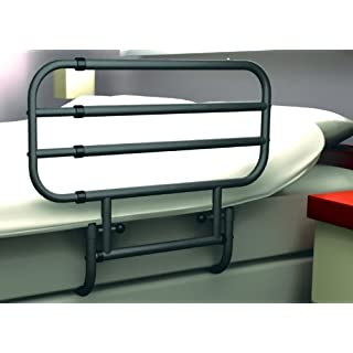 Rehastage Pivot-Rail Bed Rail/Access Aid, Adjustable, Swivelling, Can Be Used on Both Sides
