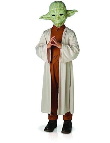 Lucas–st-630877s–Disfraz Luxe Yoda con máscara