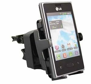 Rocina Premium KFZ Halterung 1245/42-1526 für die Lüftungsgitter für Sony Smartphones