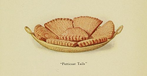 Petticoat Tails (The Poster Corp Unknown - Something-Different Dish 1915 Petticoat Tails shortbread Kunstdruck (45,72 x 60,96 cm))