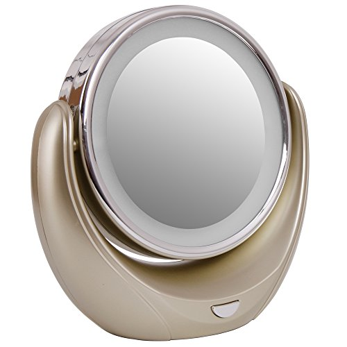 veesee-double-sided-cosmetic-makeup-round-mirror-led-light-with-360-swiveling-tabletop5x-magnificati