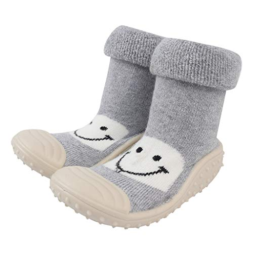 Lanskirt Zapatos Bebe Unisex Niña Invierno Bebé Niño Bautizo Recién Nacido de Dibujos Animados Suelo...