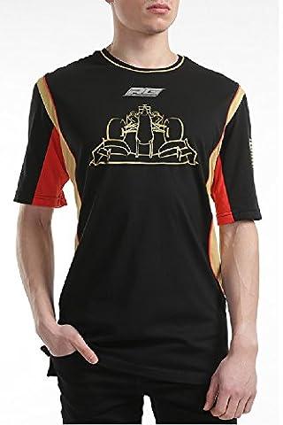 Formula One 1Lotus F1Team romain GROSJEAN, Lifestyle Pour Homme Noir T-shirt pour homme, Homme, noir, grand