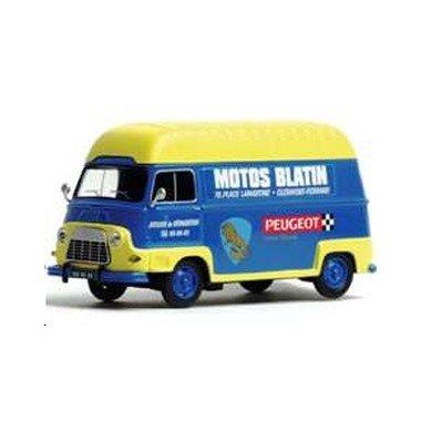Eligor - 101247 - Véhicule Miniature - Renault Estafette - Moto Blatin - Echelle 1:43