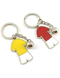 Kolossalz Soccer Football Jersey Keychain For Bike Car Men Boys (1 Pc - Color May Vary)