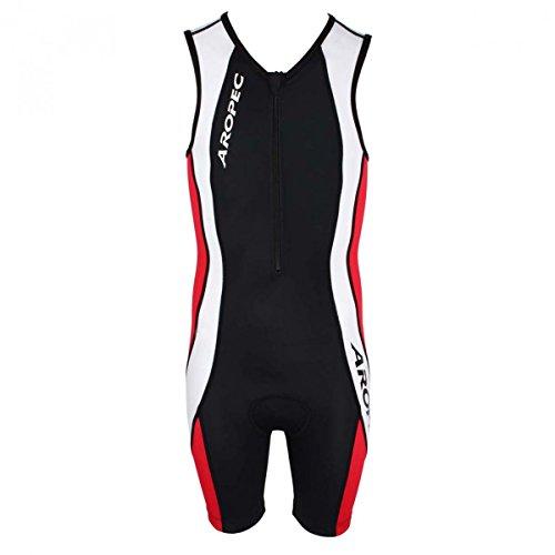 Aropec Triathlon Einteiler für Kinder - Radfahren, Schwimmen und Laufen, Größe:12