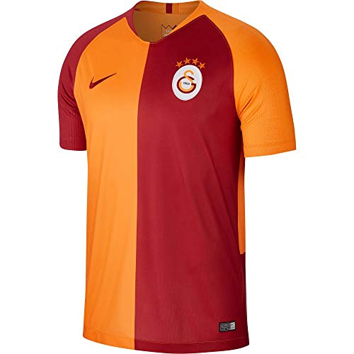 Nike Herren Galatasaray Breathe Stadium Jersey Short-Sleeve Home Trikot, Vivid orange Pepper red, M