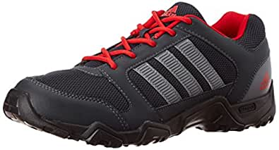 adidas Men's Ignitor Grey and Red Mesh Running Shoes - 12 UK