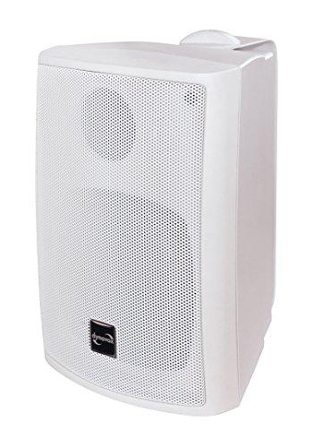DynaVox 207173 PB402 HiFi Box mit Wandhalterung (Paar) weiß