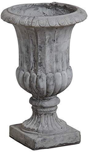 AUBRY GASPARD Vase Medicis en Fibre de Ciment Gris