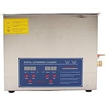 Digital Limpiador Ultrasónico Dispositivo de Limpieza por Ultrasonidos (10L)