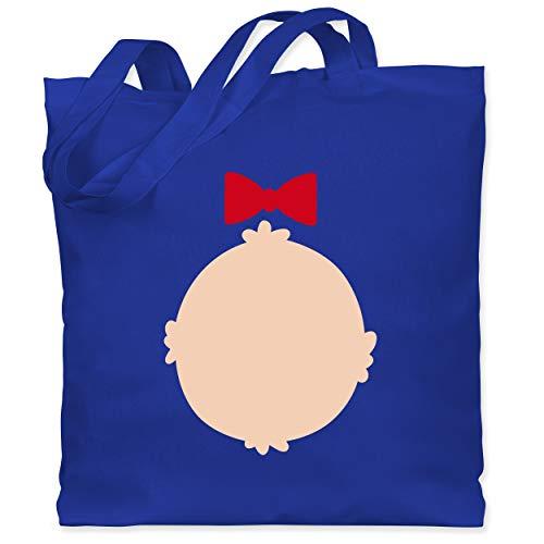 Baby Grizzly Bär Kostüm - Shirtracer Karneval & Fasching - Bär Kostüm Karneval - Unisize - Royalblau - WM101 - Stoffbeutel aus Baumwolle Jutebeutel lange Henkel